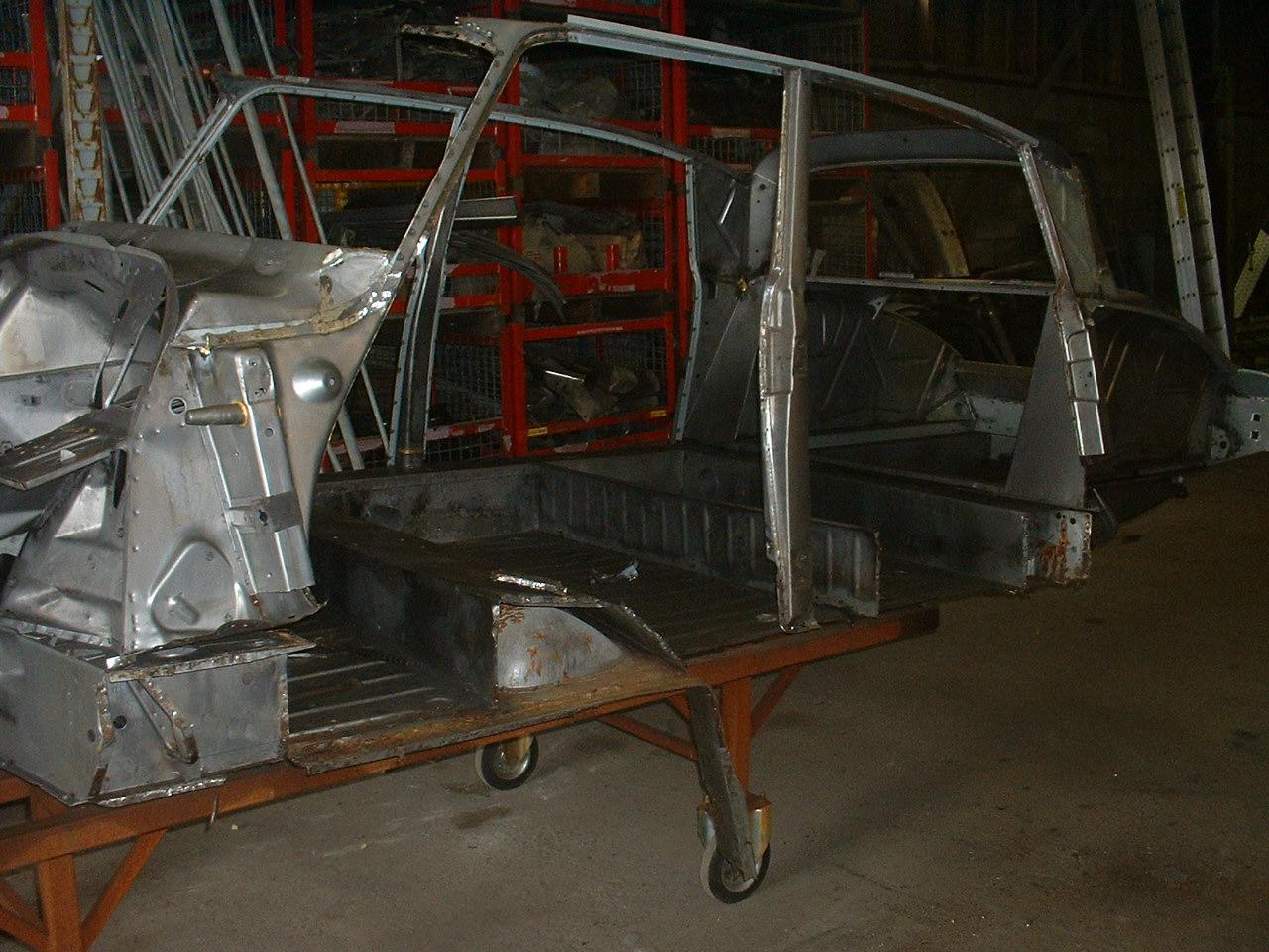 Restauratie DS Chassis